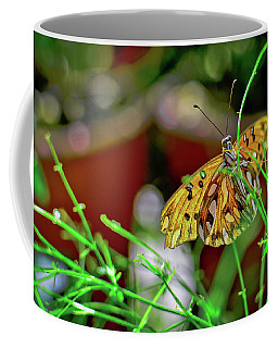Nature - Butterfly And Plants Coffee Mug