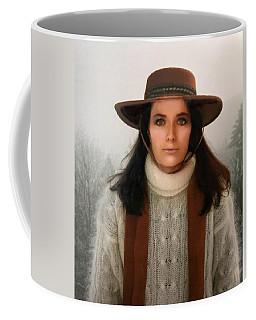 Nature Harmony Self Portrait  Coffee Mug