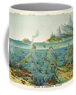 Nature - In - Descending - Regions - Geological Chart Coffee Mug