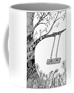 Nature Is Calling Come Out And Play Coffee Mug