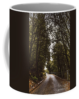 Coffee Mug featuring the photograph Nature Landscape Photo Of A Scenic Mountain Road by Jorgo Photography - Wall Art Gallery