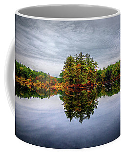 Coffee Mug featuring the photograph Nature Reflections by Lilia D