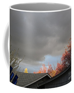 Coffee Mug featuring the photograph Nature Shining Her Light by Marie Neder
