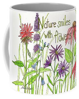 Nature Smile With Flowers Coffee Mug