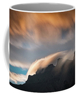 Coffee Mug featuring the photograph Nature's Abstract by William Lee