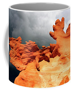Coffee Mug featuring the photograph Nature's Artistry Nevada 2 by Bob Christopher