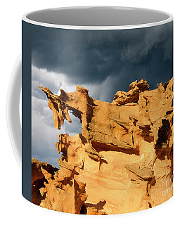 Coffee Mug featuring the photograph Nature's Artistry Nevada 3 by Bob Christopher