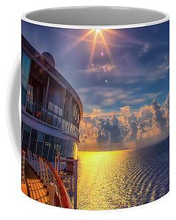 Natures Beauty At Sea Coffee Mug