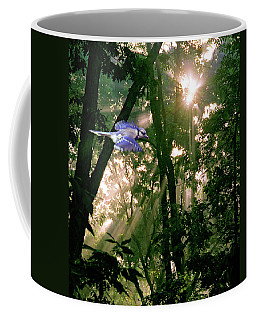 Coffee Mug featuring the photograph Nature's Cathedral by Marie Hicks