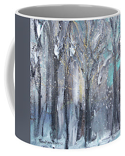 Coffee Mug featuring the painting Nature's Cathedral by Robin Maria Pedrero