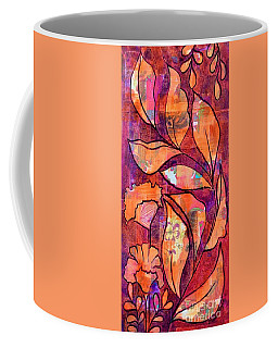 Coffee Mug featuring the mixed media Nature's Dance by Julie Hoyle