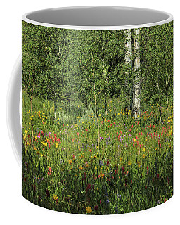 Nature's Flower Garden Coffee Mug