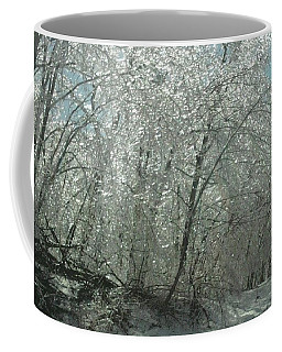 Coffee Mug featuring the photograph Nature's Frosting by Ellen Levinson