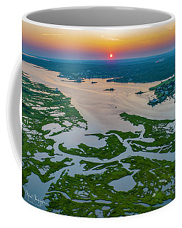 Coffee Mug featuring the photograph Natures Hidden Lines by Michael Hughes