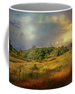 Coffee Mug featuring the photograph Natures Landscape by John Rivera