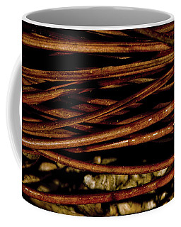 Nature's Lattice Coffee Mug by Gina O'Brien