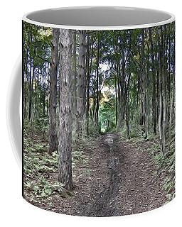 Natures Painted Photograph Coffee Mug