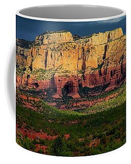Nature's Spotlight, Sedona, Arizona Coffee Mug