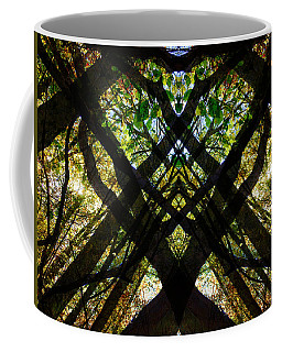 Natures Stain Glass Coffee Mug