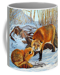 Natures Submission Coffee Mug by Marilyn McNish