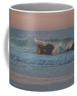 Coffee Mug featuring the photograph Natures Wave by  Newwwman
