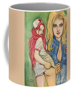 Naughty Nurses Coffee Mug