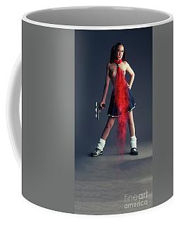 Naughty Schoolgirl Coffee Mug
