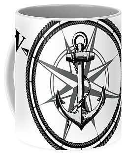 Nautica Bw Coffee Mug