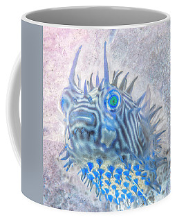 Coffee Mug featuring the photograph Nautical Beach And Fish #12 by Debra and Dave Vanderlaan