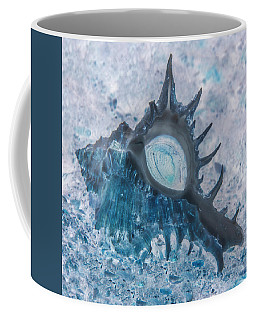 Coffee Mug featuring the photograph Nautical Beach And Fish #13 by Debra and Dave Vanderlaan