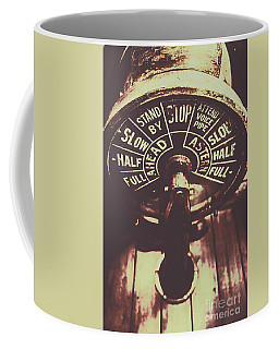 Nautical Engine Room Telegraph Coffee Mug