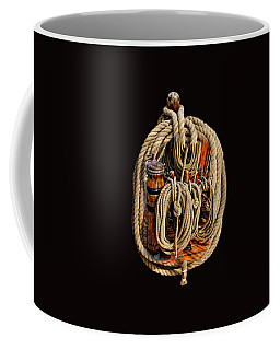 Nautical Knots 17 Oil Coffee Mug