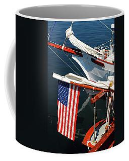 Nautical Patriot Coffee Mug