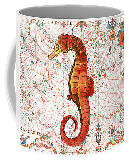 Coffee Mug featuring the painting Nautical Treasures-i by Jean Plout