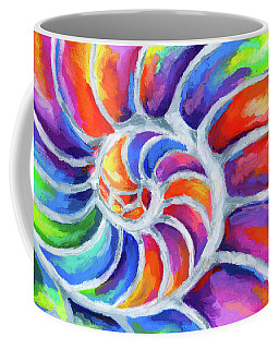 Nautilus Curves Coffee Mug