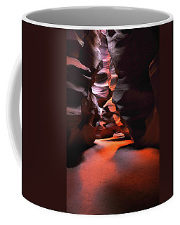 Coffee Mug featuring the photograph Navajo Magic Antelope Canyon by Howard Bagley