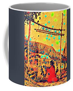 Navajo Woman Weaving 1 Coffee Mug
