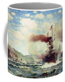 Naval Battle Explosion Coffee Mug