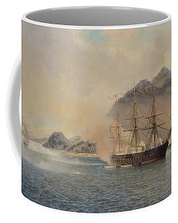 Naval Battle Of The Strait Of Shimonoseki Coffee Mug