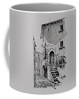 Navelli Dip Pen Sketch  Coffee Mug