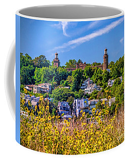Navesink Light On The Hill Coffee Mug
