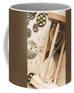 Navigating Vintage Time Coffee Mug
