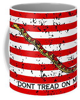 Navy Jack Flag - Don't Tread On Me Coffee Mug