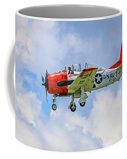 Coffee Mug featuring the photograph Navy Trainer #2 by Tom Claud