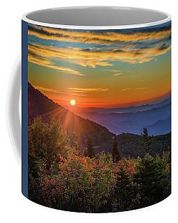 Nc Mountain Sunrise Blue Ridge Mountains Coffee Mug