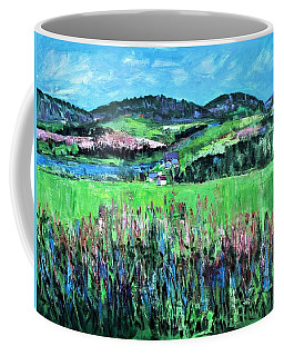 Near Cooperstown Coffee Mug by Betty Pieper