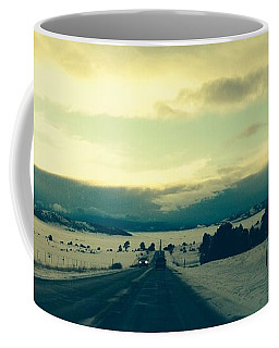 Coffee Mug featuring the photograph Near Hartsel by Christin Brodie