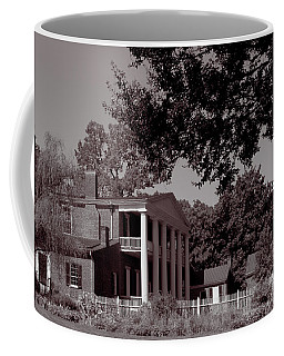 Coffee Mug featuring the photograph Near The House - The Hermitage by James L Bartlett