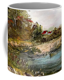 Near The Pond Coffee Mug