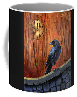 Coffee Mug featuring the painting Nearing Midnight by Terry Webb Harshman